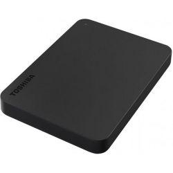 Hard disk extern TOSHIBA Canvio, USB 3.0, 2.5 inch, 2TB, Negru