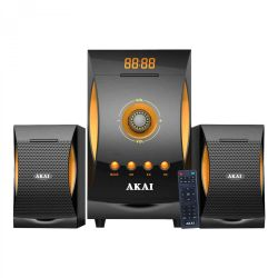 Sistem audio Akai SS032A-3515, 2.1, 38 W, bluetooth, negru