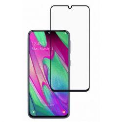 Folie de sticla 3D TELLUR pentru Samsung Galaxy A40, negru