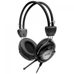 Casti cu microfon A4TECH HS-19-1, negru-gri