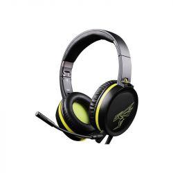 Casti + microfon gaming SOMIC G801, negru/galben