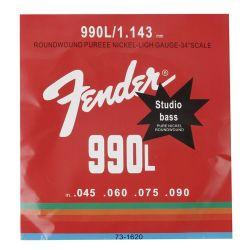 Corzi chitara bass FENDER 990L, set 4 corzi