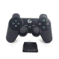 Gamepad ESPERANZA Gladiator EGG108K pentru PC/PS3, wireless, negru
