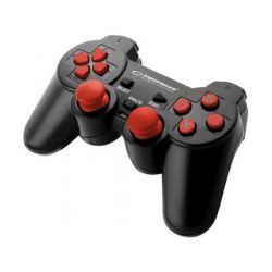 Controller ESPERANZA EGG106R cu vibratii, PC/PS2/PS3