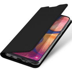 Husa flip wallet OEM pentru Samsung Galaxy A20e, negru