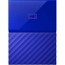 """Hard disk extern WD My Passport 2 TB, 2.5"""", USB 3.0, albastru"""