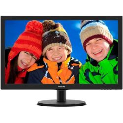 "Monitor LED PHILIPS 223V5LSB2/10 21.5"", 1920x1080 pixels (FHD), Negru"