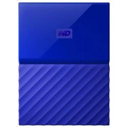 """Hard disk extern WD My Passport 1 TB, 2.5"""", USB 3.0, albastru"""