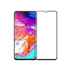 Folie sticla 3D MOBIAMA pentru Samsung Galaxy A70, negru