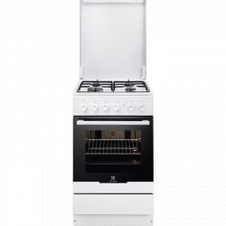 Aragaz ELECTROLUX EKG51151OW, 4 zone de gatit, grill, alb