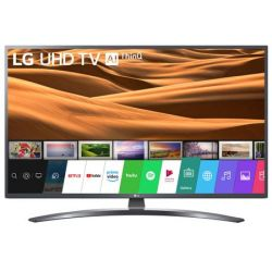 "Televizor LED Smart LG 55UM7400PLB 55"" (140 cm), Smart TV, Plat, 4K (UltraHD), WebOS, Negru"