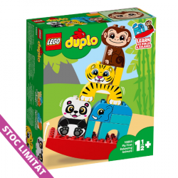 LEGO DUPLO Primul meu balansoar cu animale 10884