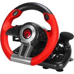 Volan gaming MARVO Scorpion GT-902, negru/rosu