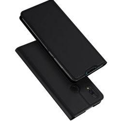 Husa flip wallet OEM pentru Huawei Y7 2019/Y7 Prime 2019, negru