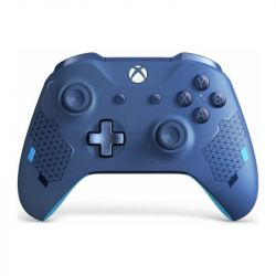 Controller wireless MICROSOFT Xbox One, Sport Blue Special Edition