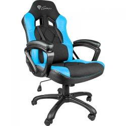 SCAUN GAMING NATEC GENESIS NITRO 330 BLACK-BLUE