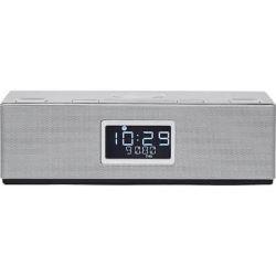 Radio ceas HORIZON Acustico HAV-P4200, 10W, 2.0, Qi Wireless Charger, BT, AUX, USB, FM, Dual Alarm