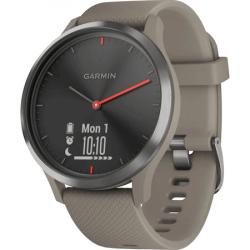 Ceas smartwatch Garmin Vivomove HR Sport, Gri