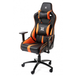 Scaun gaming SERIOUX Kessian, Negru/Orange
